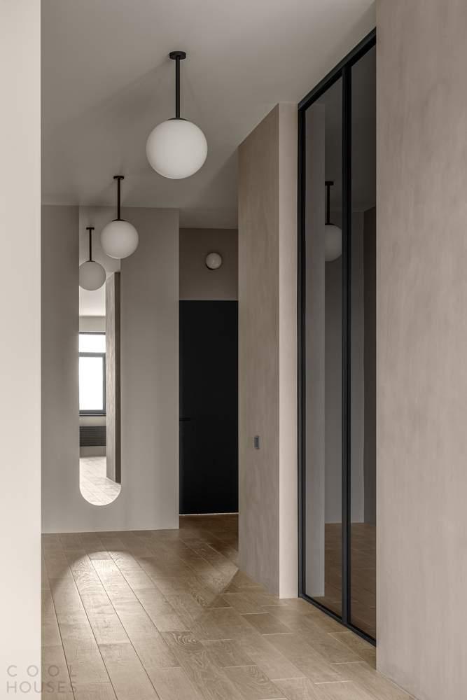 Минималистичная квартира с элегантным изысканным интерьером, Украина