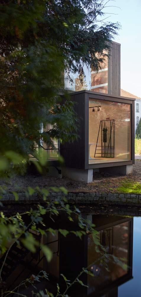 Модульный выставочный зал для компании GAB, Бельгия