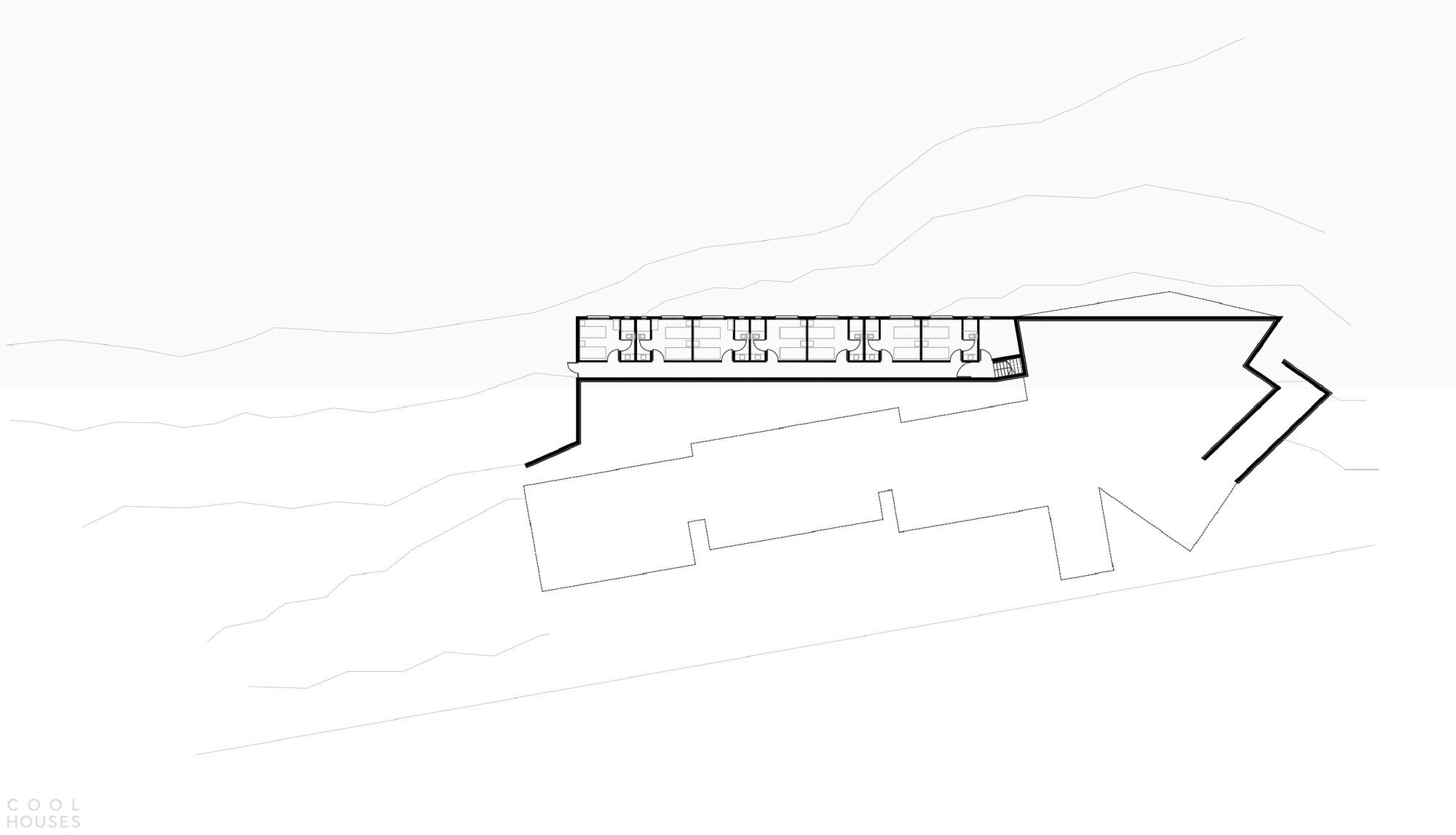 Расширение хостела Calafate в Южной Патагонии, Аргентина