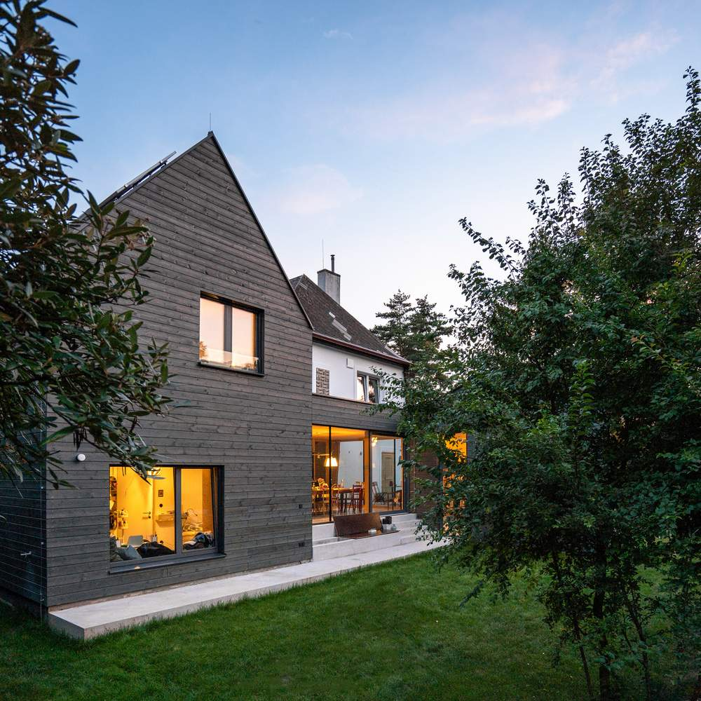 Расширение старого семейного дома в Австрии