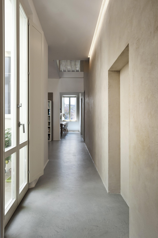 Апартаменты с уютным интерьером в стиле лофт