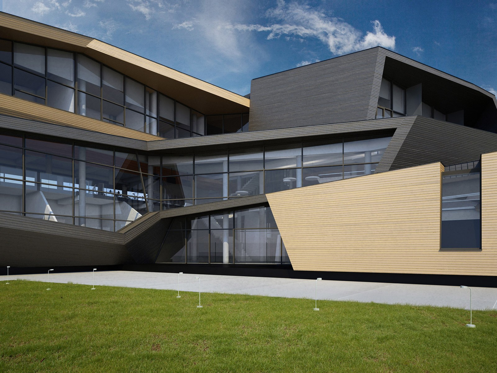 Дизайн теннисного клуба Истра