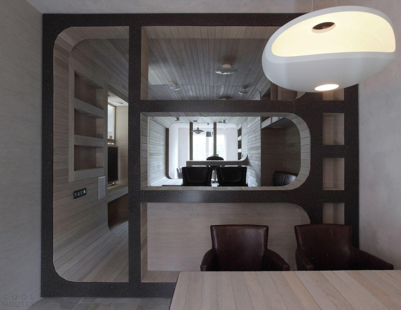 Креативная квартира в Москве в ЖК «Смоленская застава»