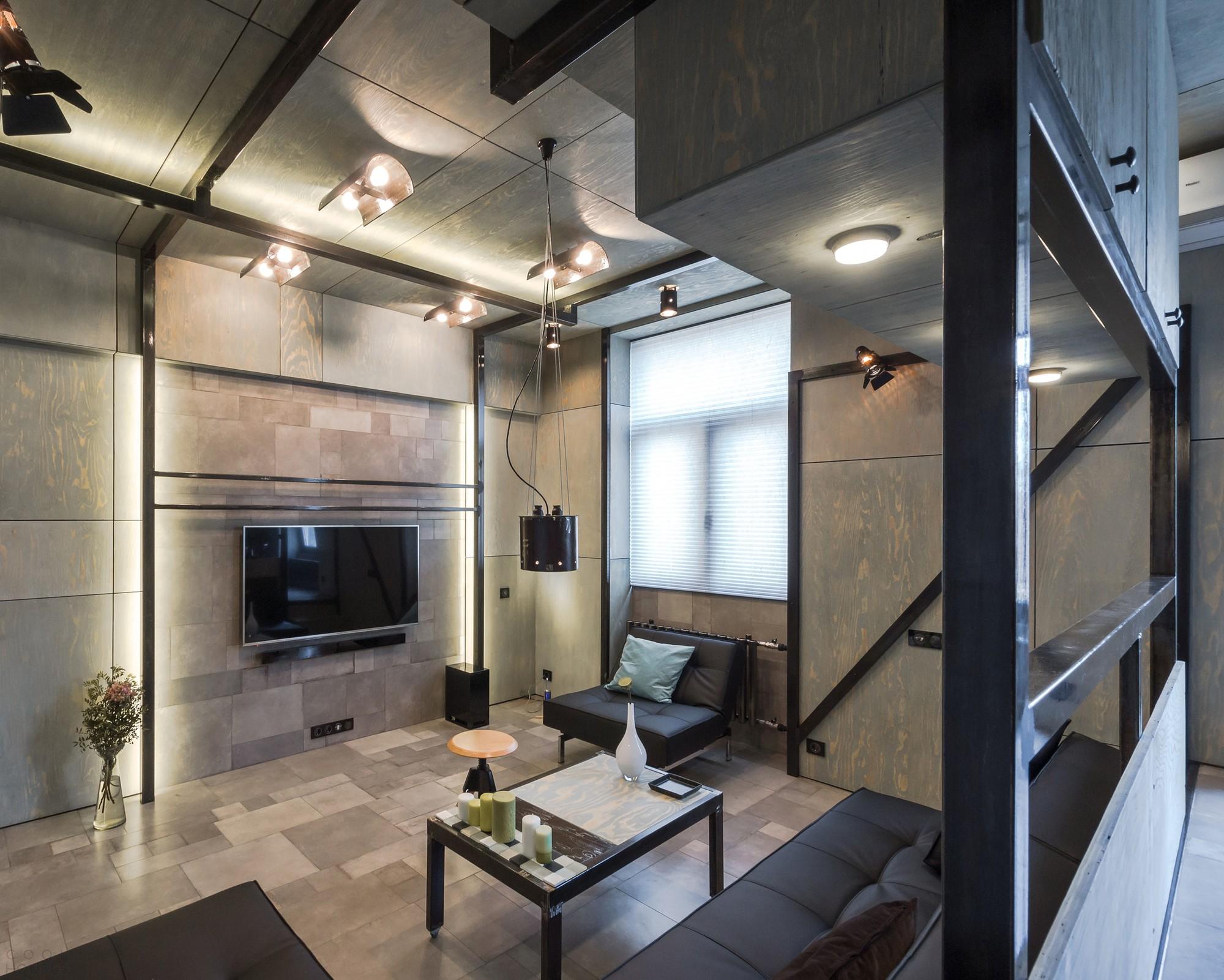 Необычный интерьер квартиры в Москве