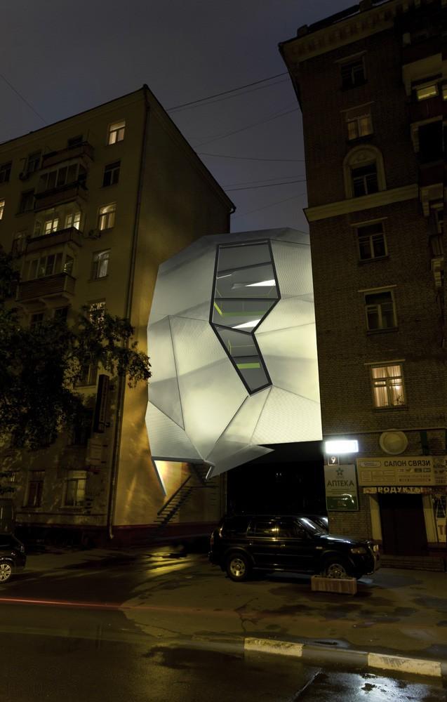 Офис-паразит (Parasite Office) в Москве