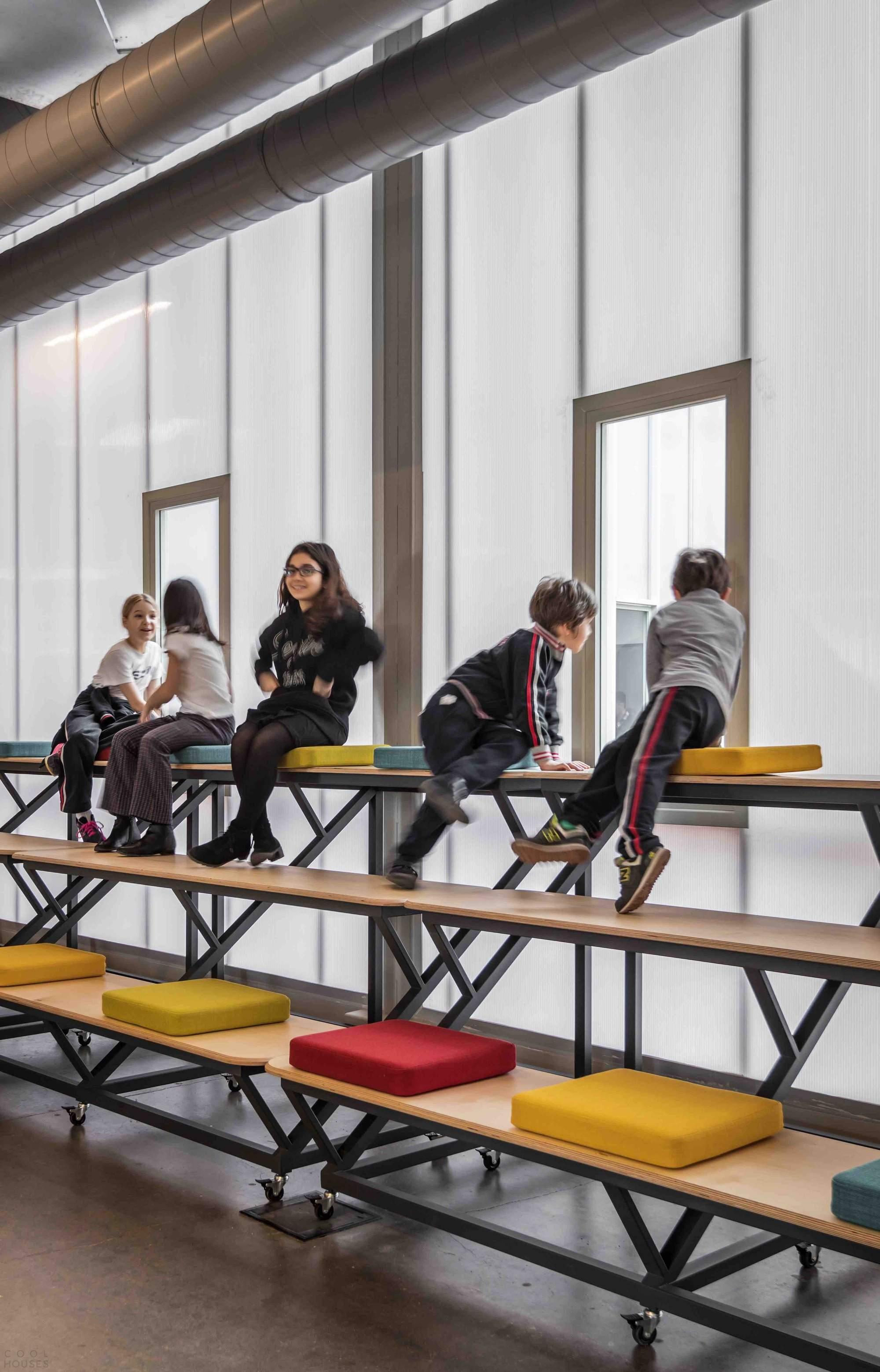 Частная школа от ATÖLYE в Стамбуле, Турция