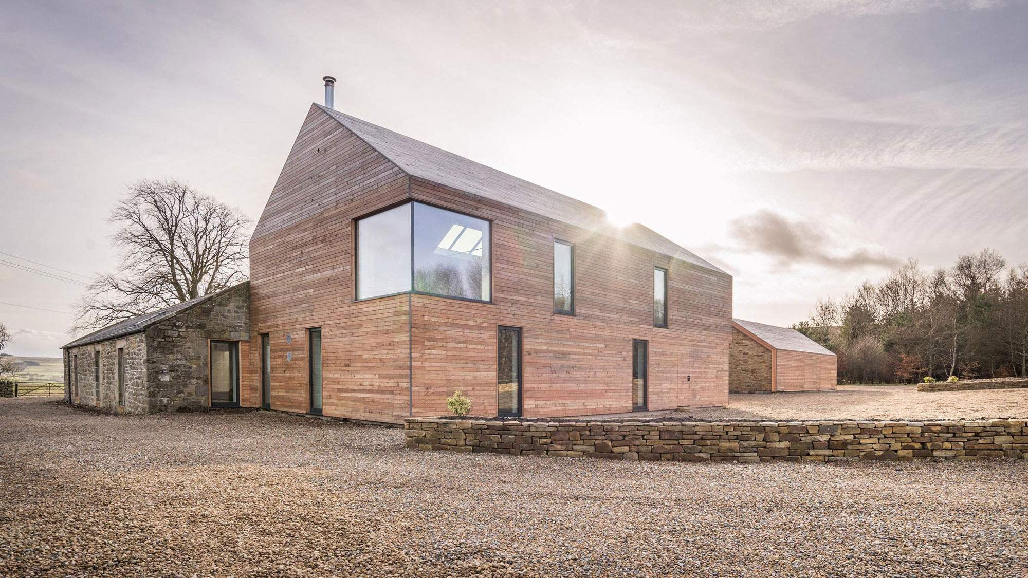 Реконструкция старого фермерского дома в Англии