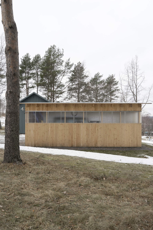 Реконструкция старой виллы на берегу Балтийского моря в Швеции