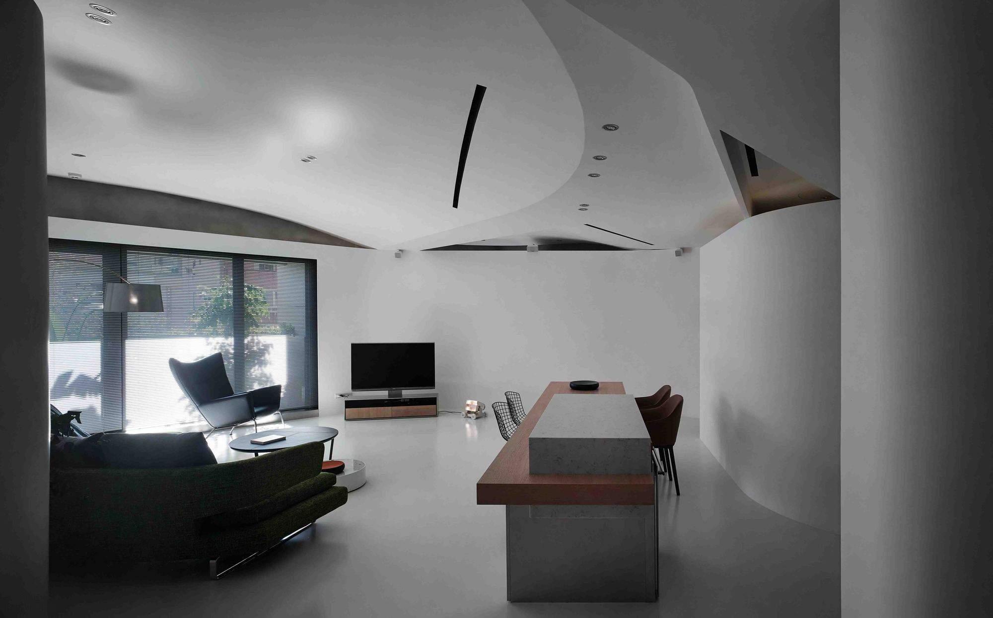 Современная квартира от CJ Studio в Тайване