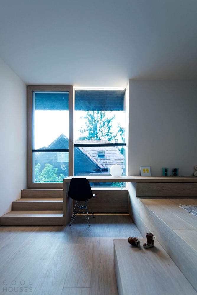 Современный дом 3SHOEBOX House в Словении
