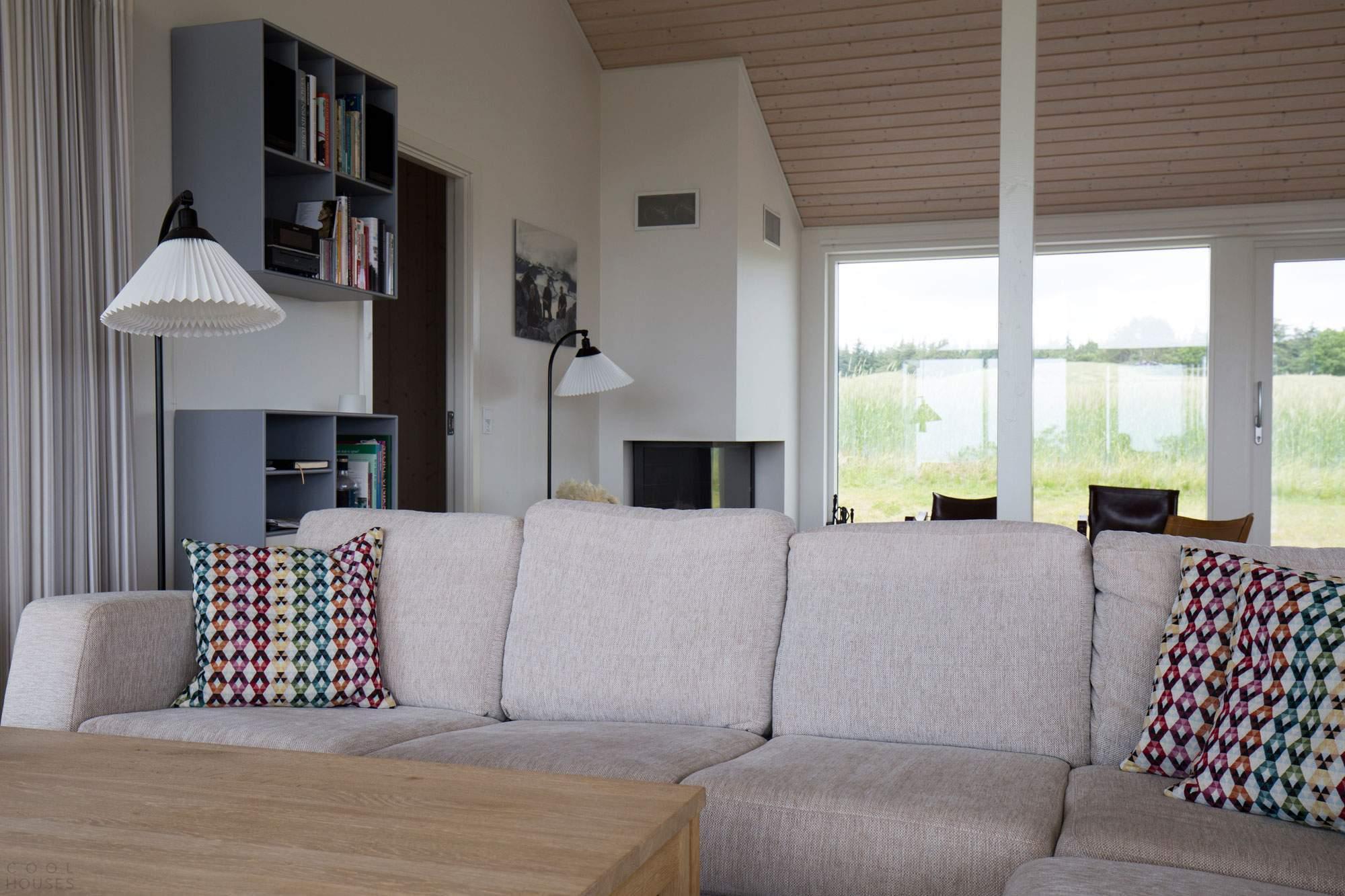 Современный романтичный летний дом от датской фирмы Lilje-Huset