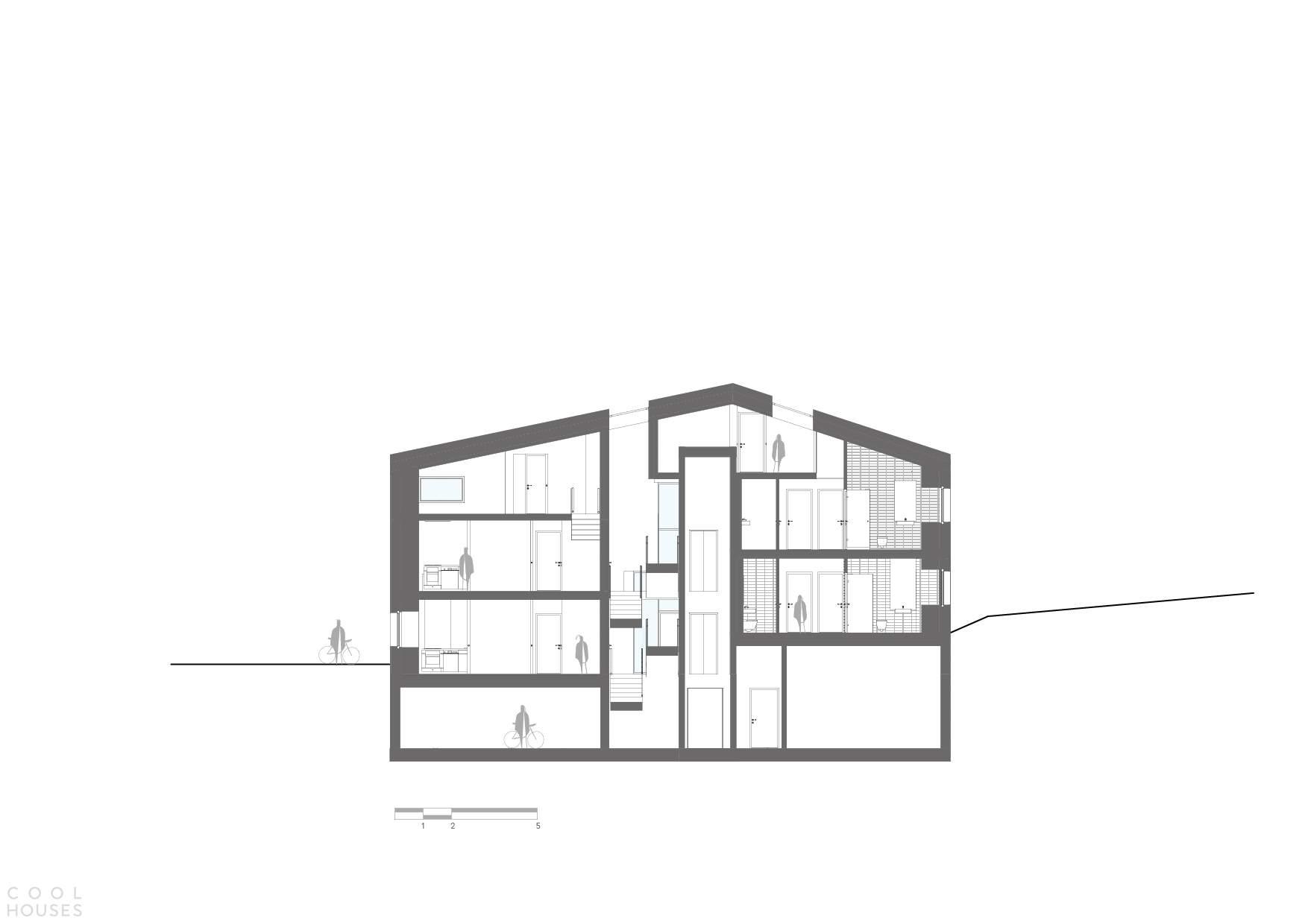 Жилой комплекс Villa Faun в Осло, Норвегия