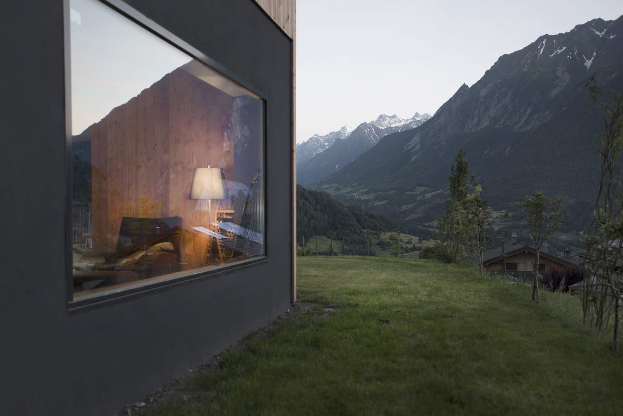 Дом с видом на горы, Швейцария