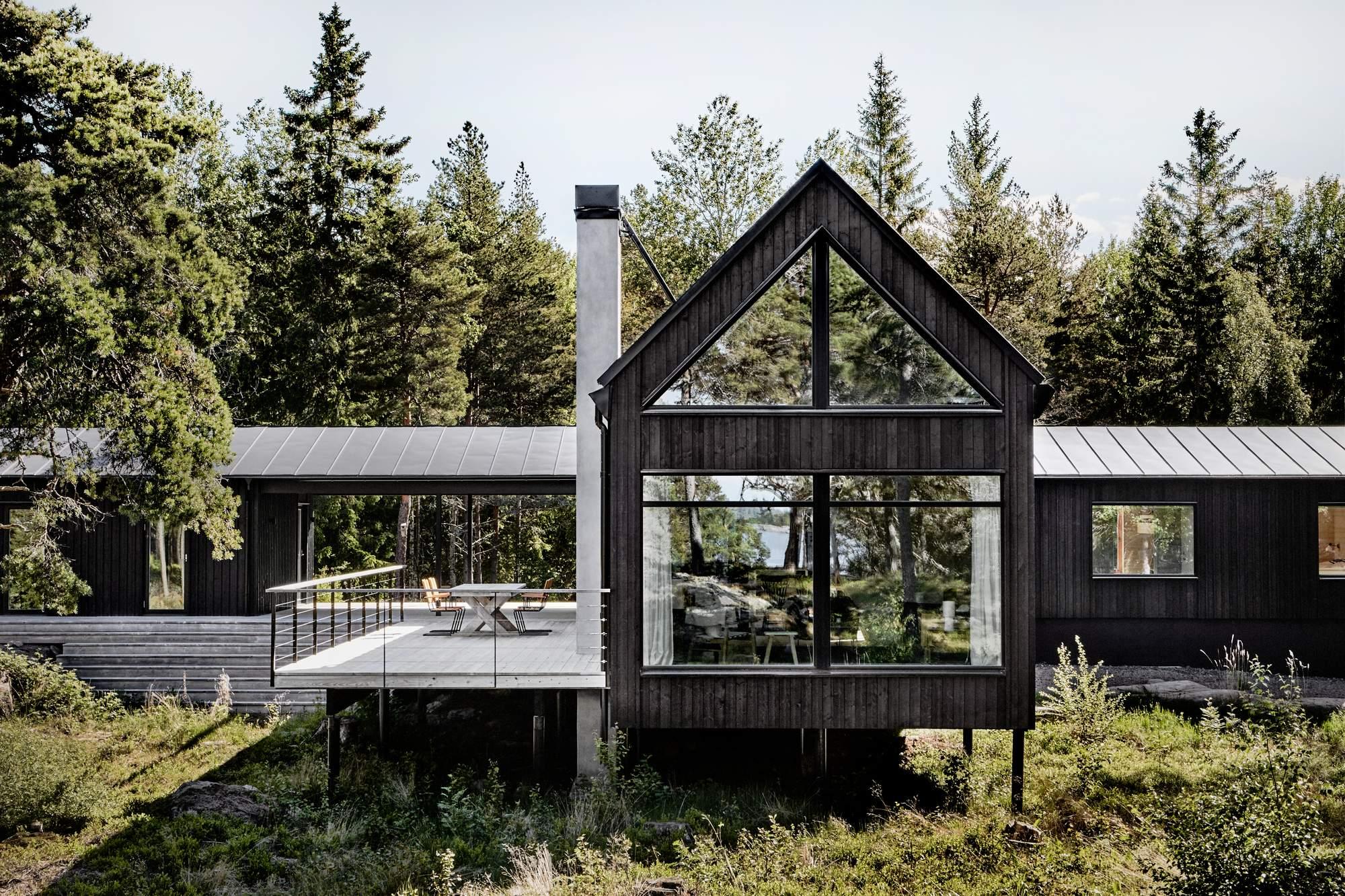 Летний дом в Стокгольмском архипелаге, Швеция