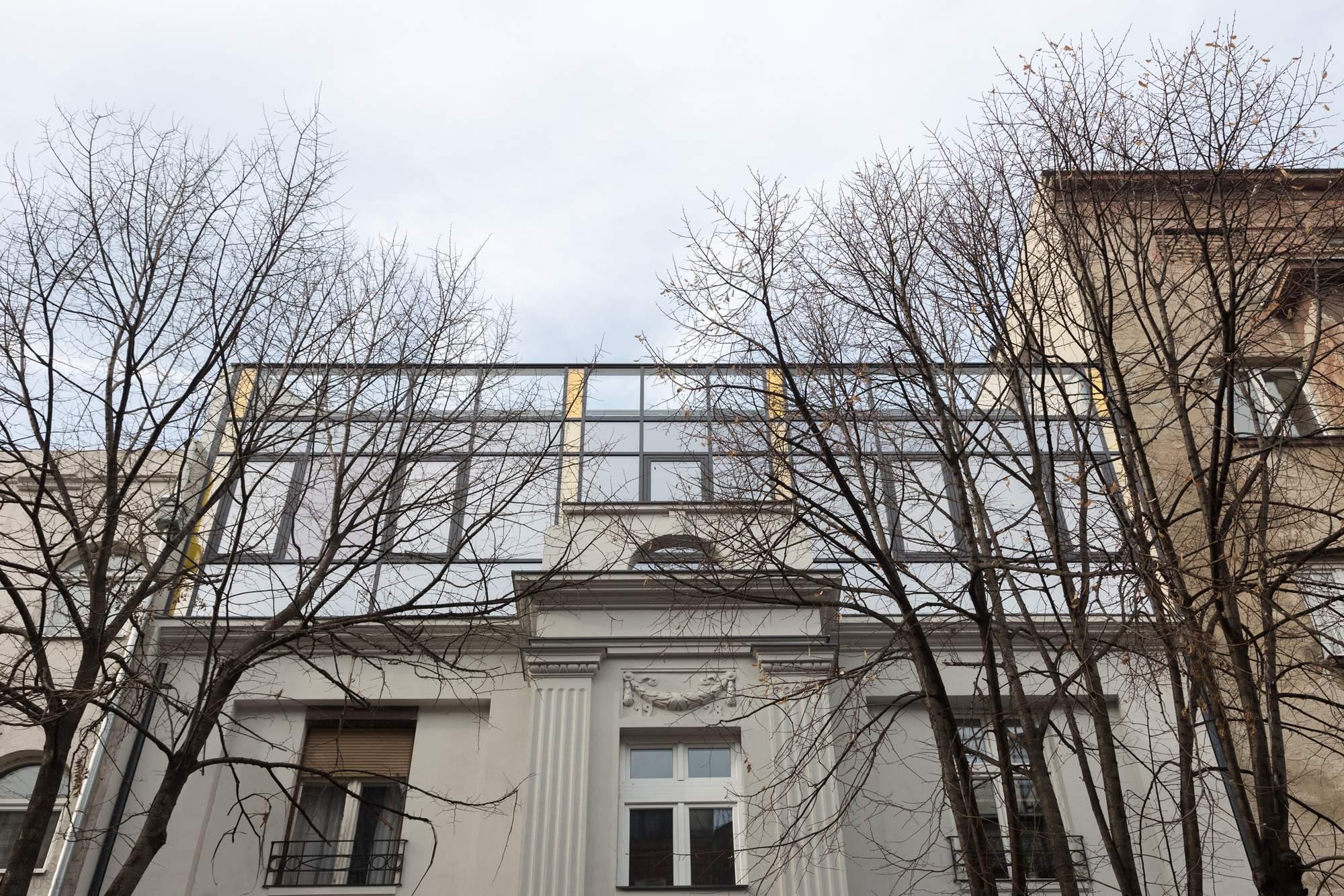 Ремоделирование старинного здания в Белграде, Сербия