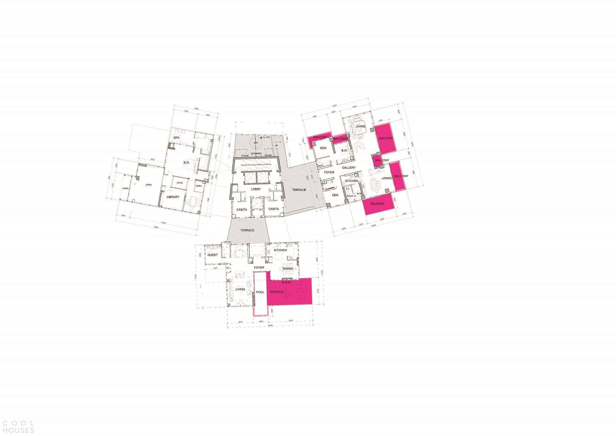 Жилой комплекс «Crystal Laputa» в Китае