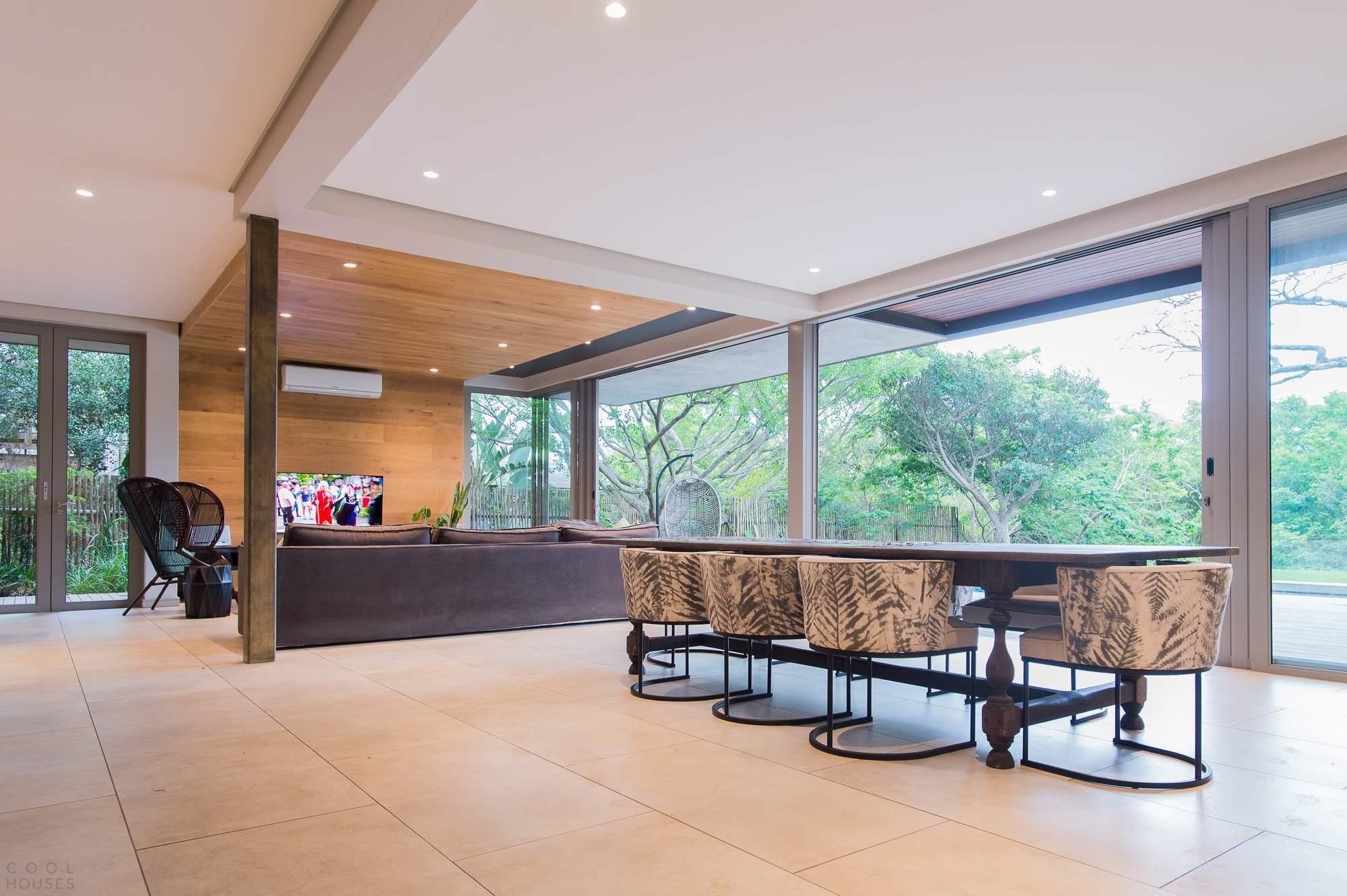 Семейный дом с ощущением пространства и единения с природой, Южная Африка