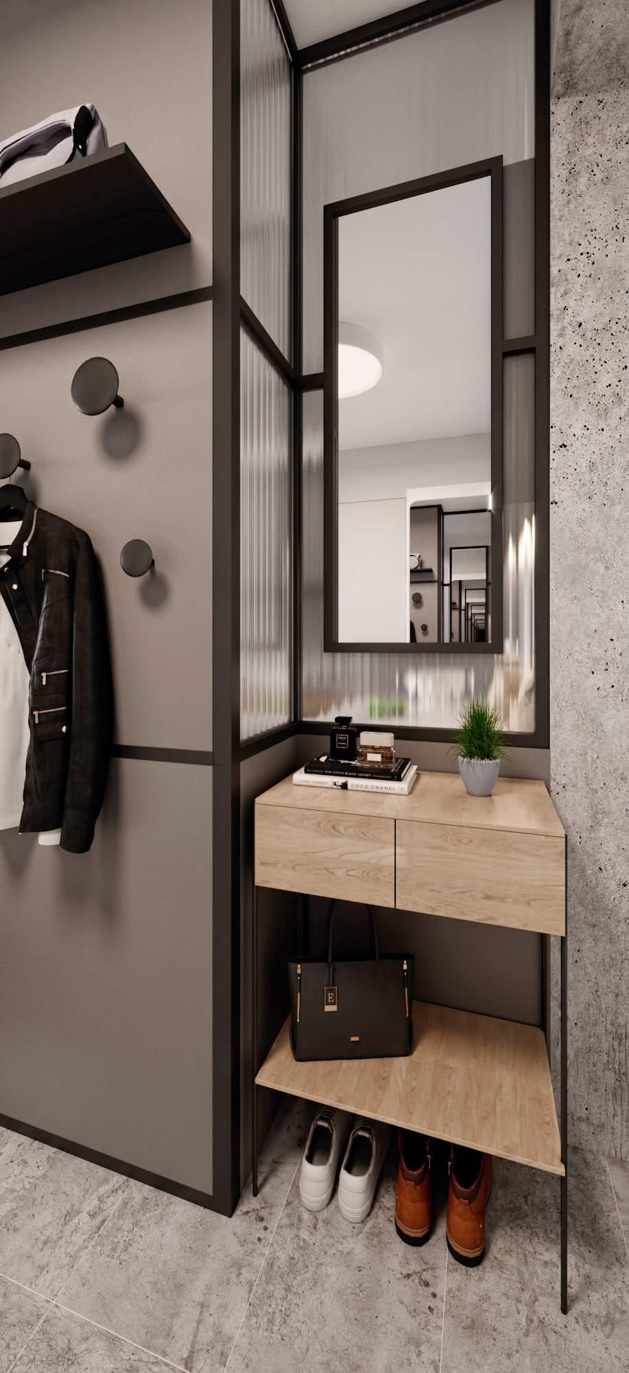 Стильная квартира в обычном панельном доме