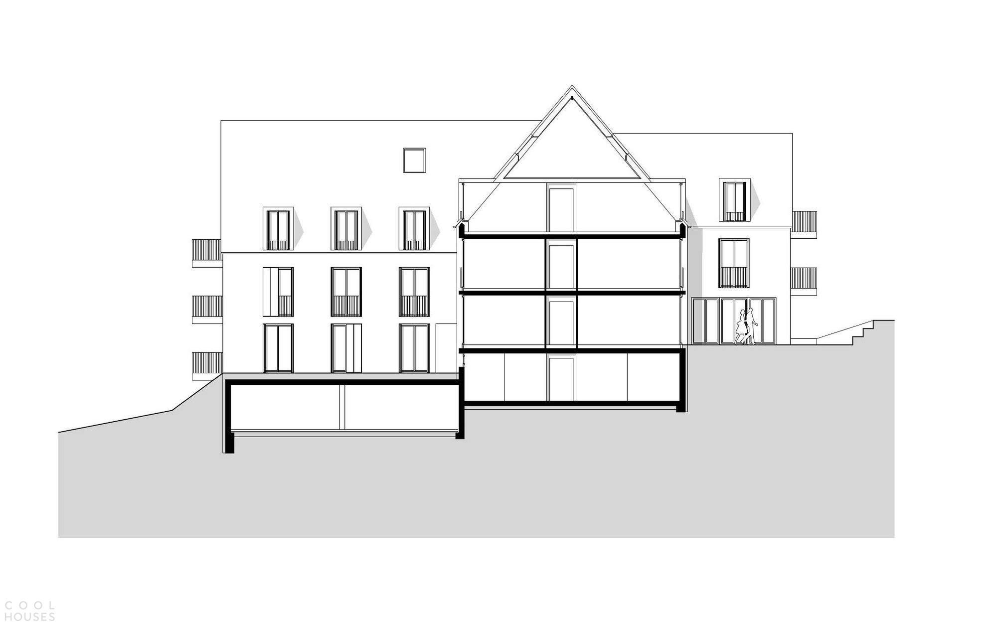 «Дом для нескольких поколений» с простым классическим дизайном, Германия