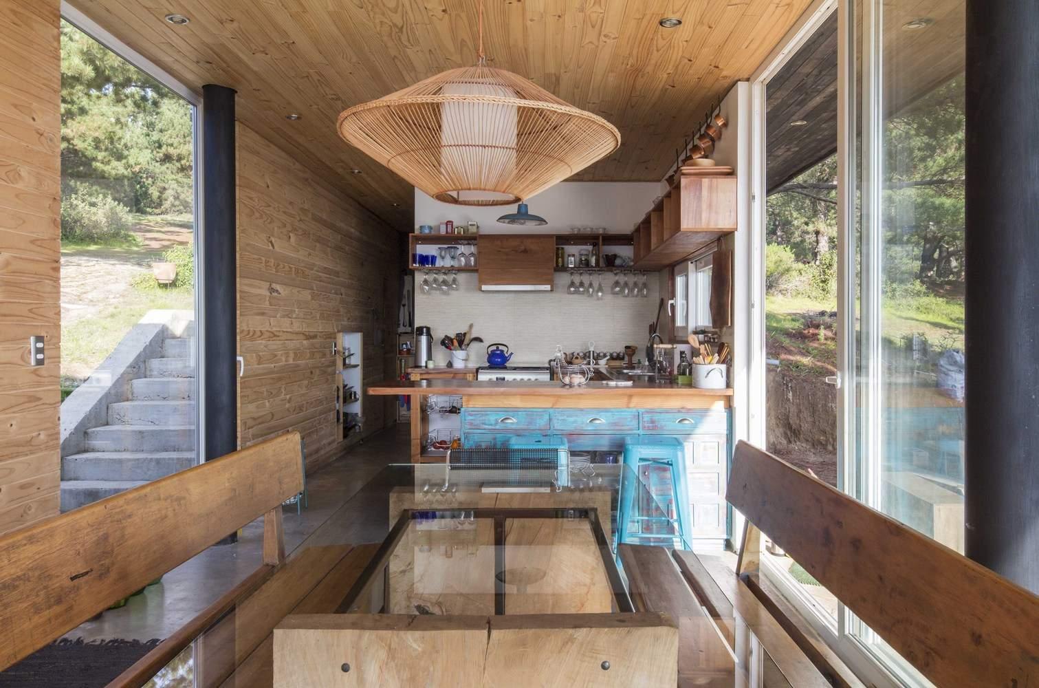 Дом для отдыха вдалеке от цивилизации, Чили