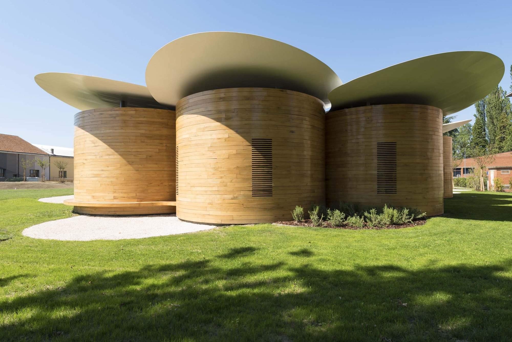 Дом музыки с креативным дизайном, Италия