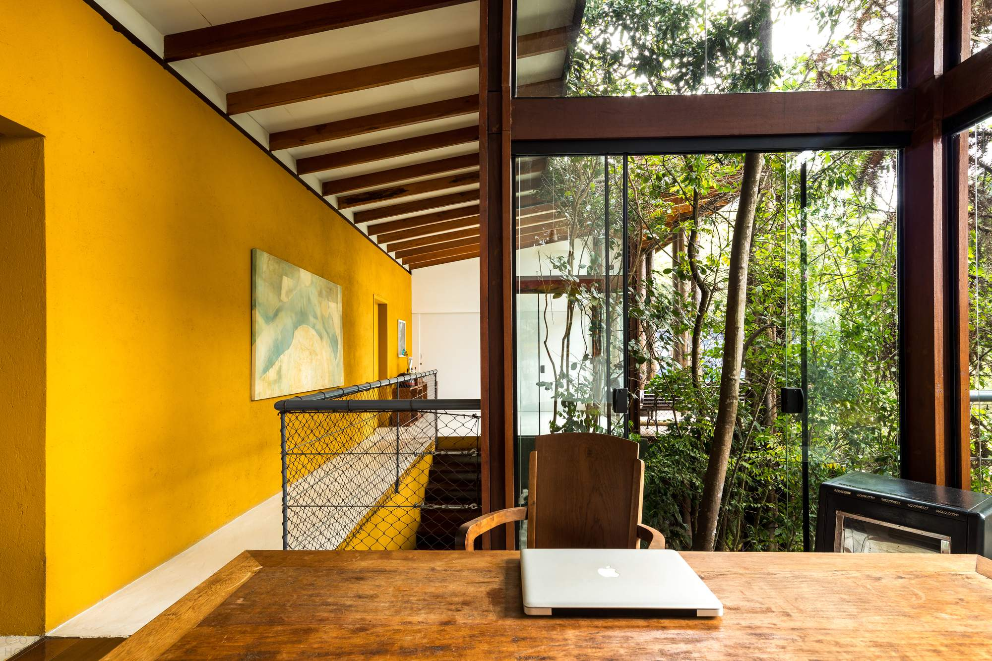 Дом Тинги с интегрированными пространствами, Бразилия