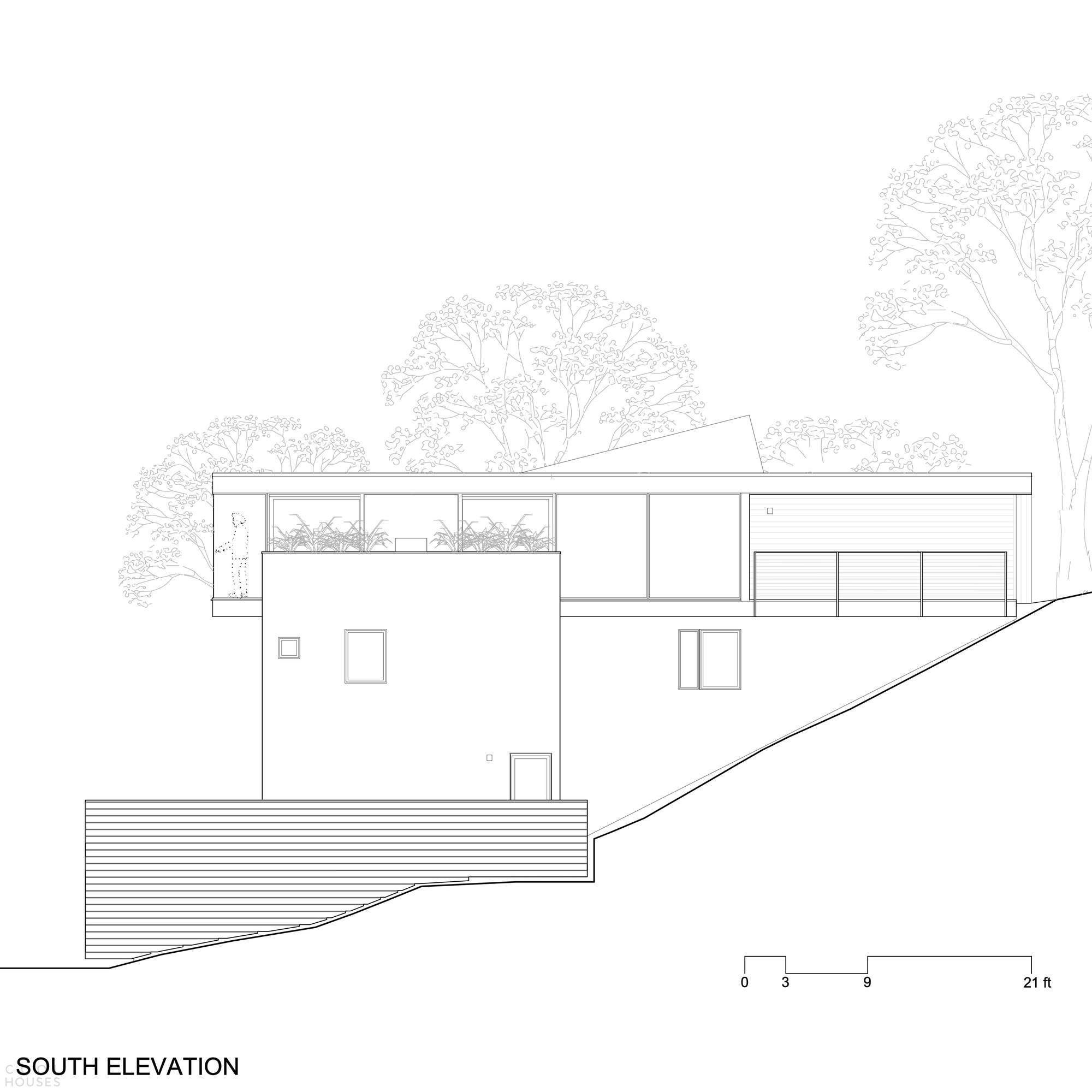 Семейная резиденция, защищенная от стихийных бедствий, США