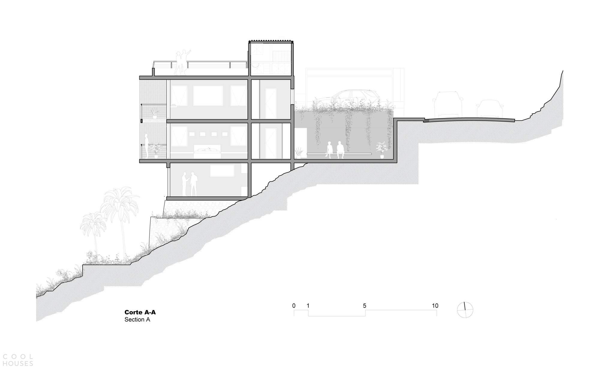 Современный дом с гибким функциональным пространством, Перу