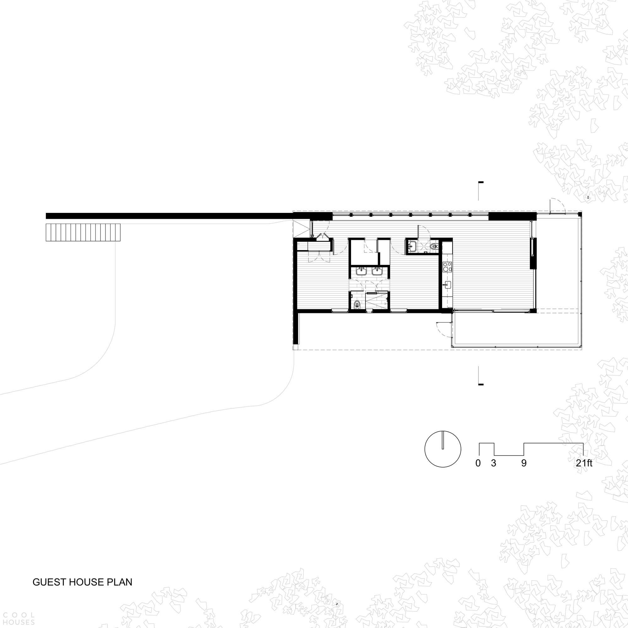 Современный семейный комплекс «Гудзонская долина», США