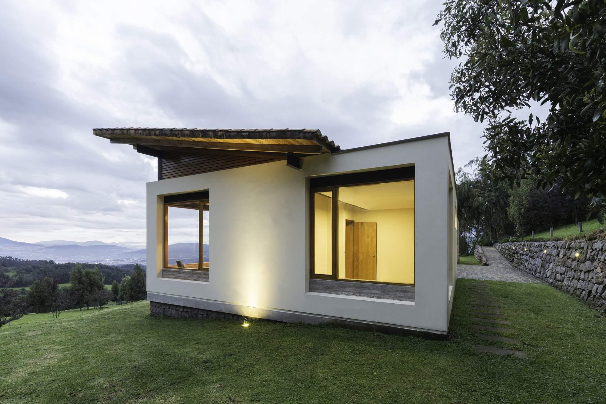 Загородный коттедж на склонах вулкана, Эквадор