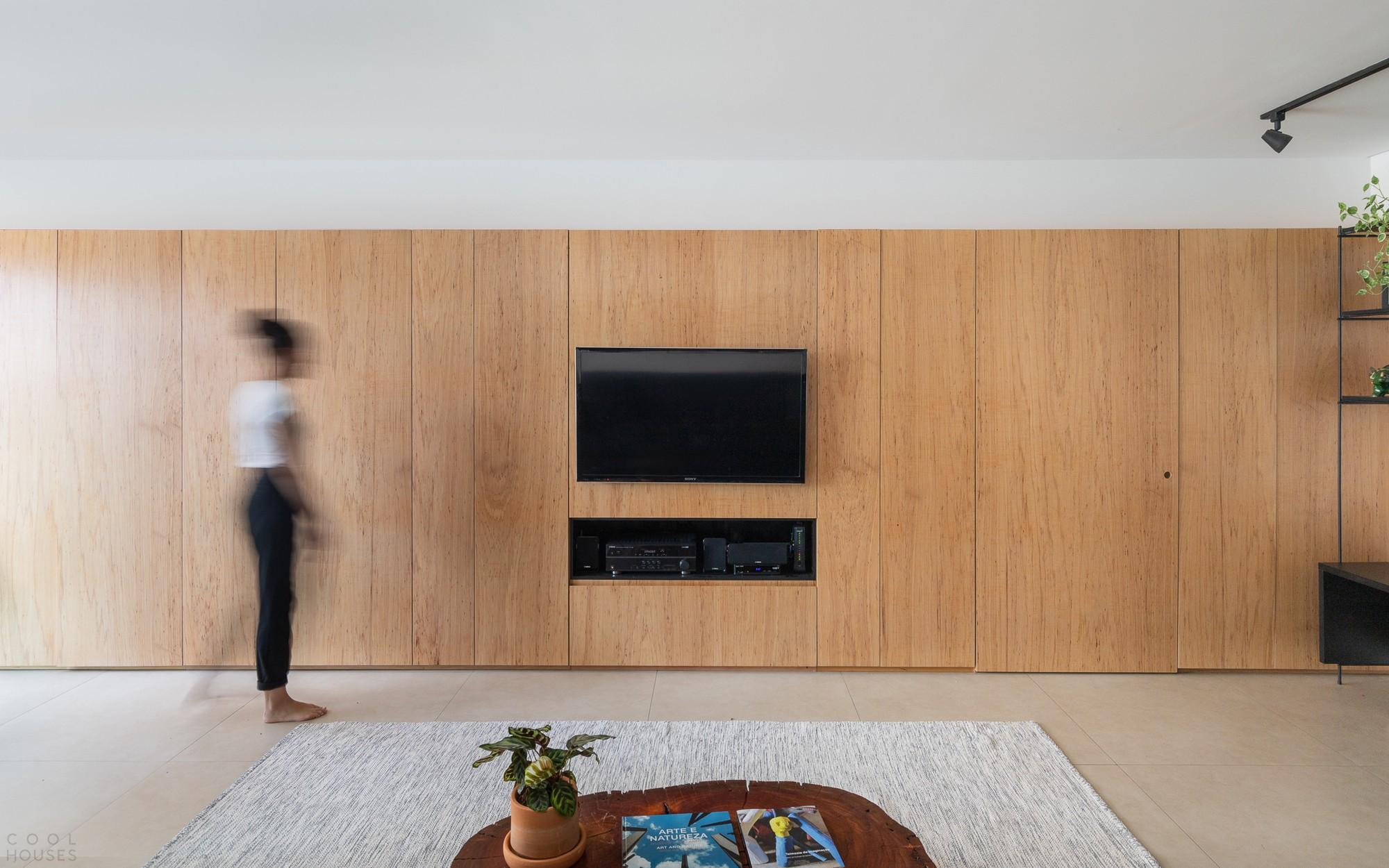 Минималистичная квартира с нестандартными дизайнерскими решениями