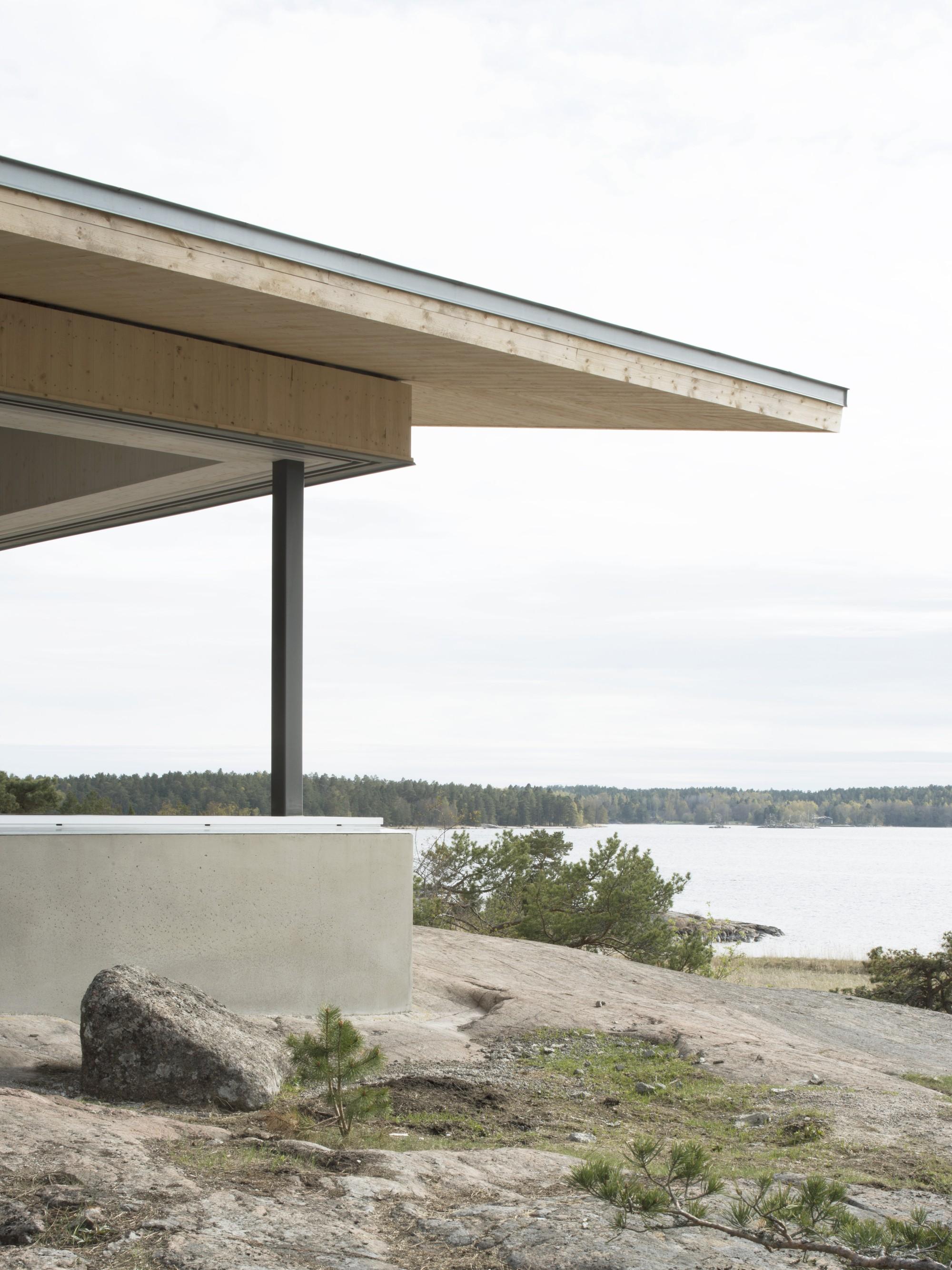 Частная резиденция на острове в Стокгольмском архипелаге