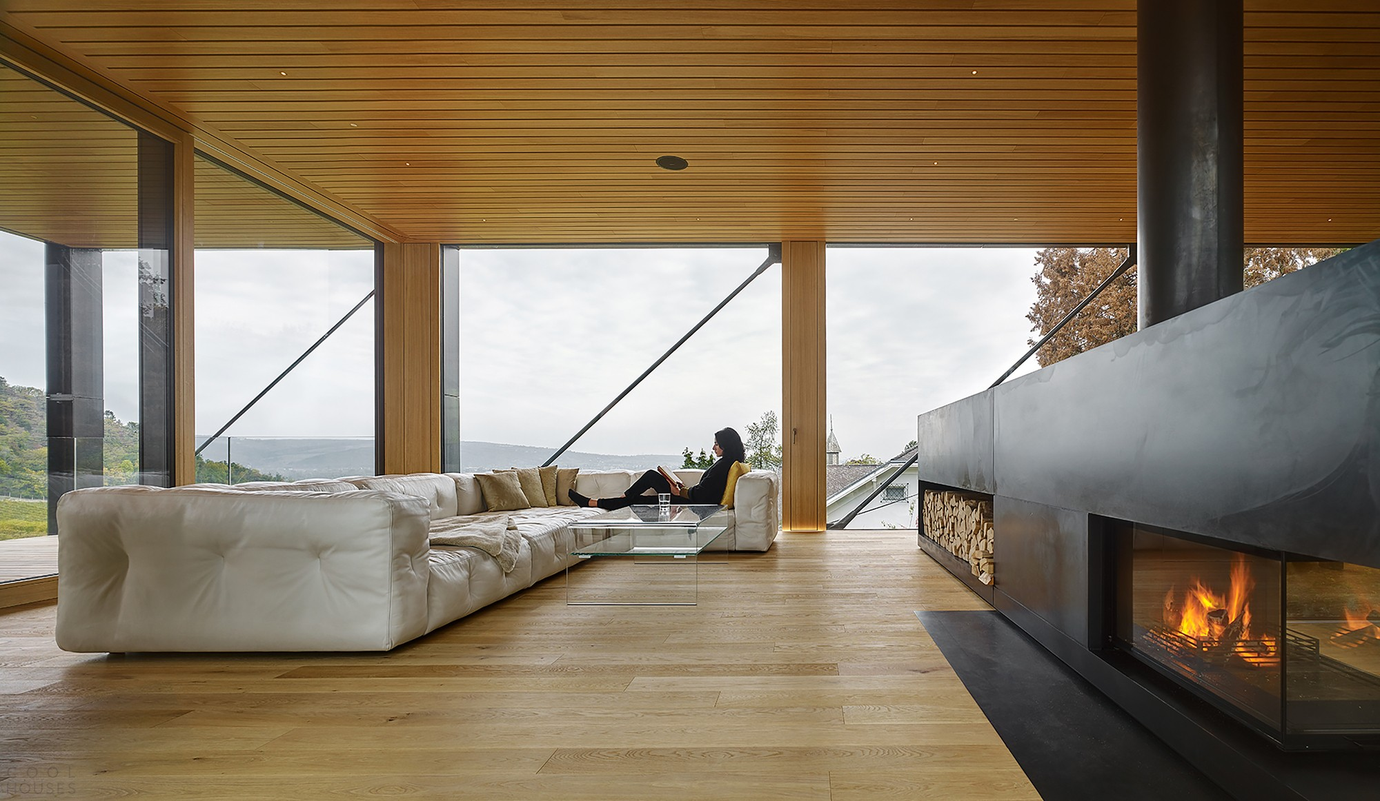 Дом с панорамным видом на виноградники и горы