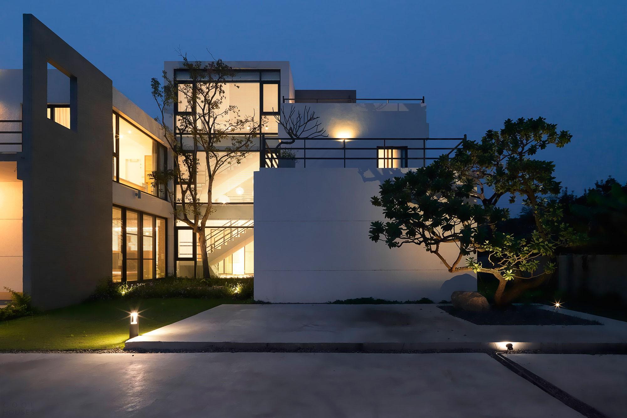 Частная резиденция «Четыре сезона» в Тайвани