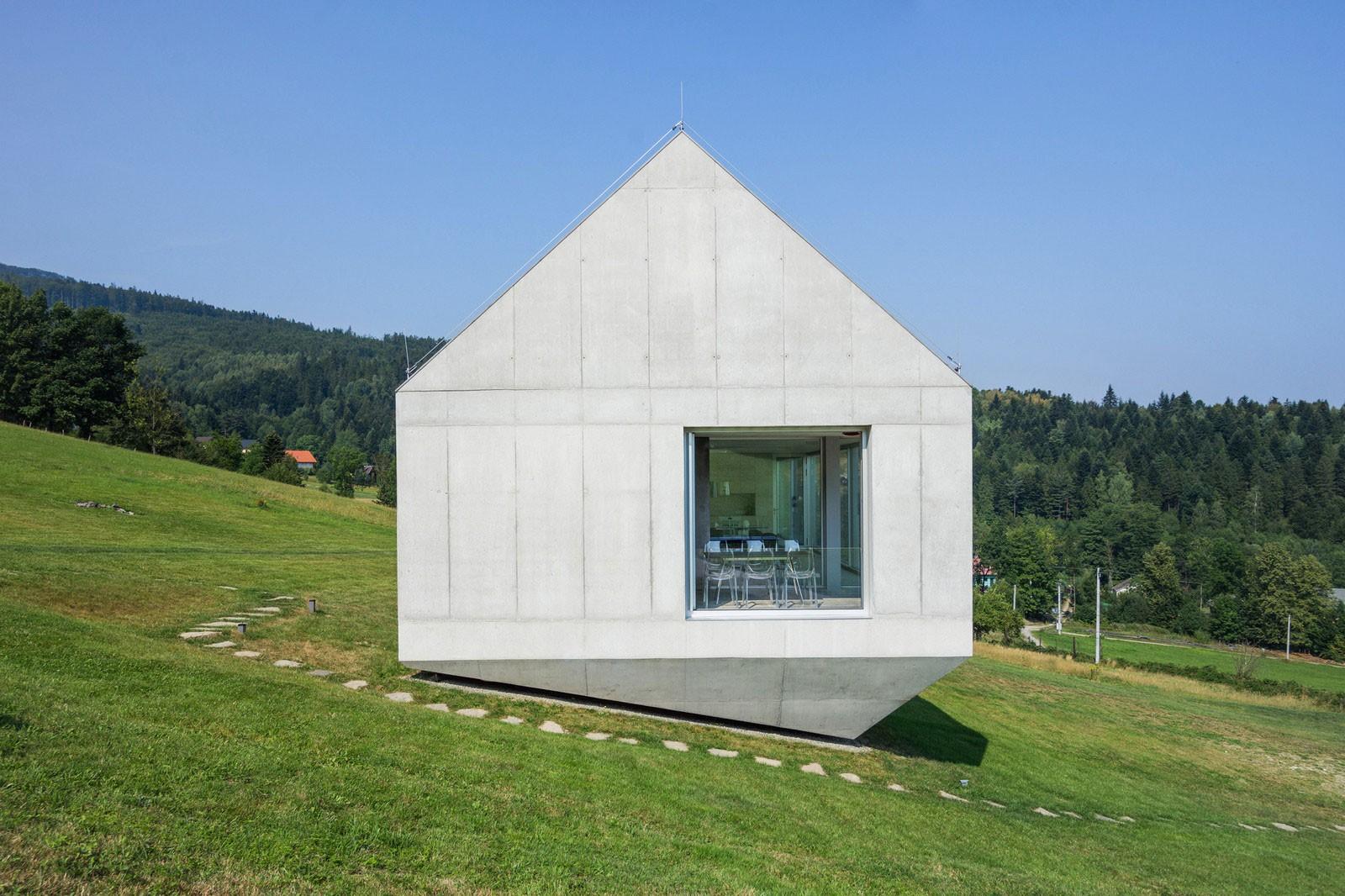 Эффектный домик для загородного отдыха в Польше