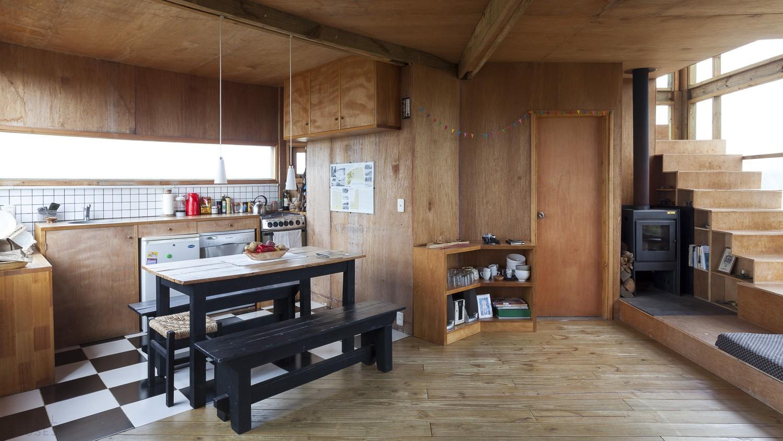 Проект деревянного дома Casa Abierta в Роче, Уругвай