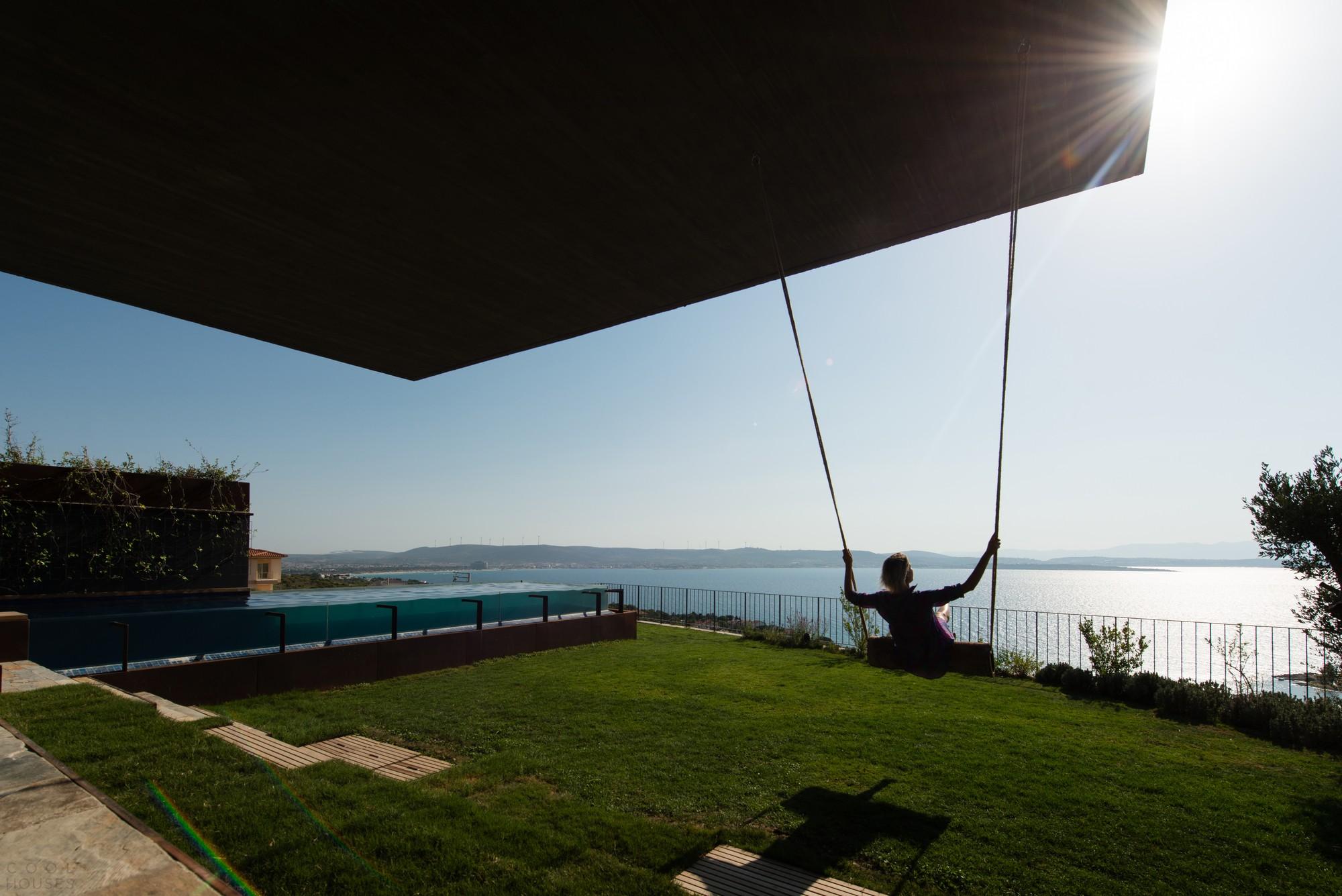 Роскошная вилла с видом на Эгейское море