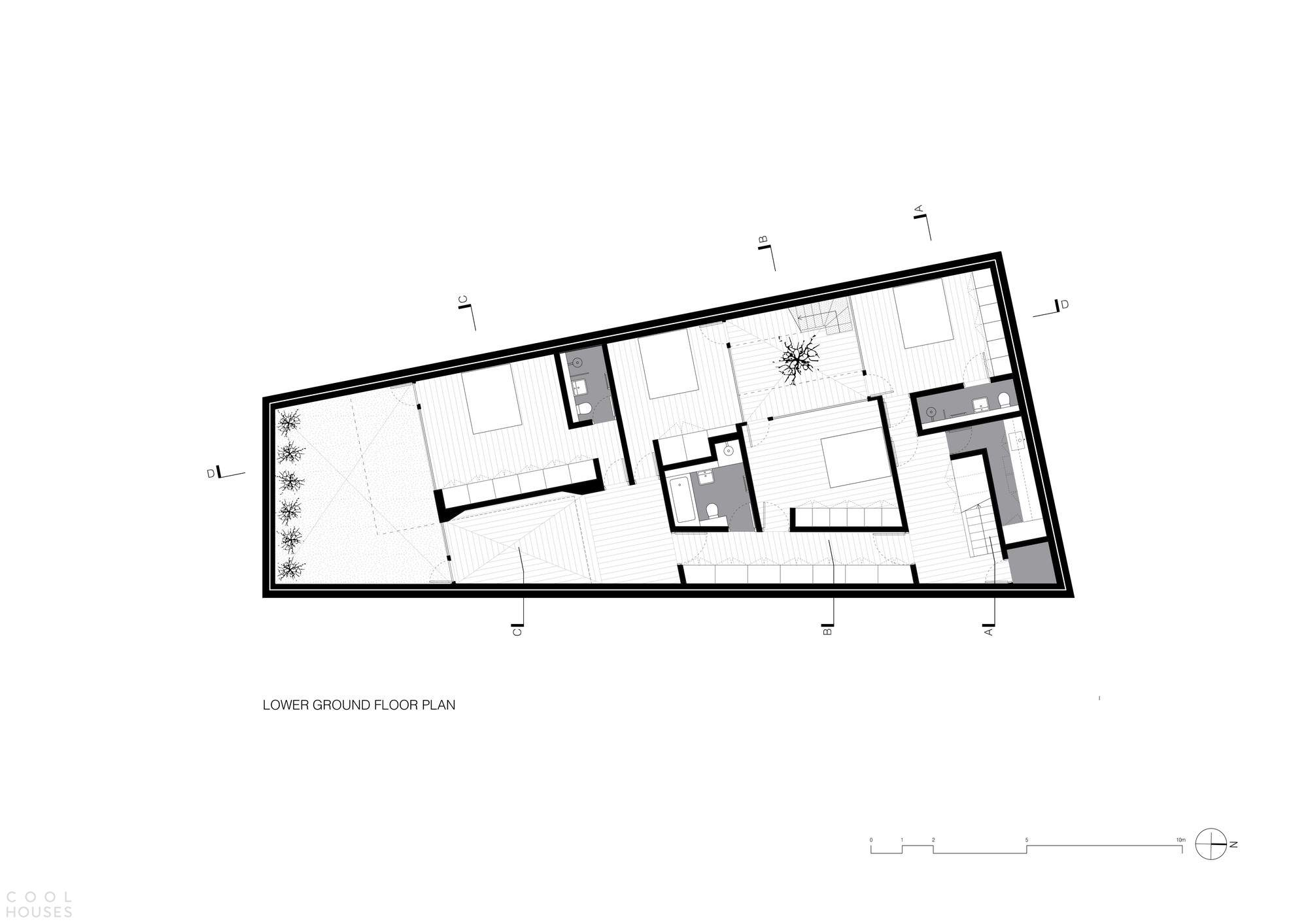 Дом со сводчатыми крышами в Лондоне, Великобритания