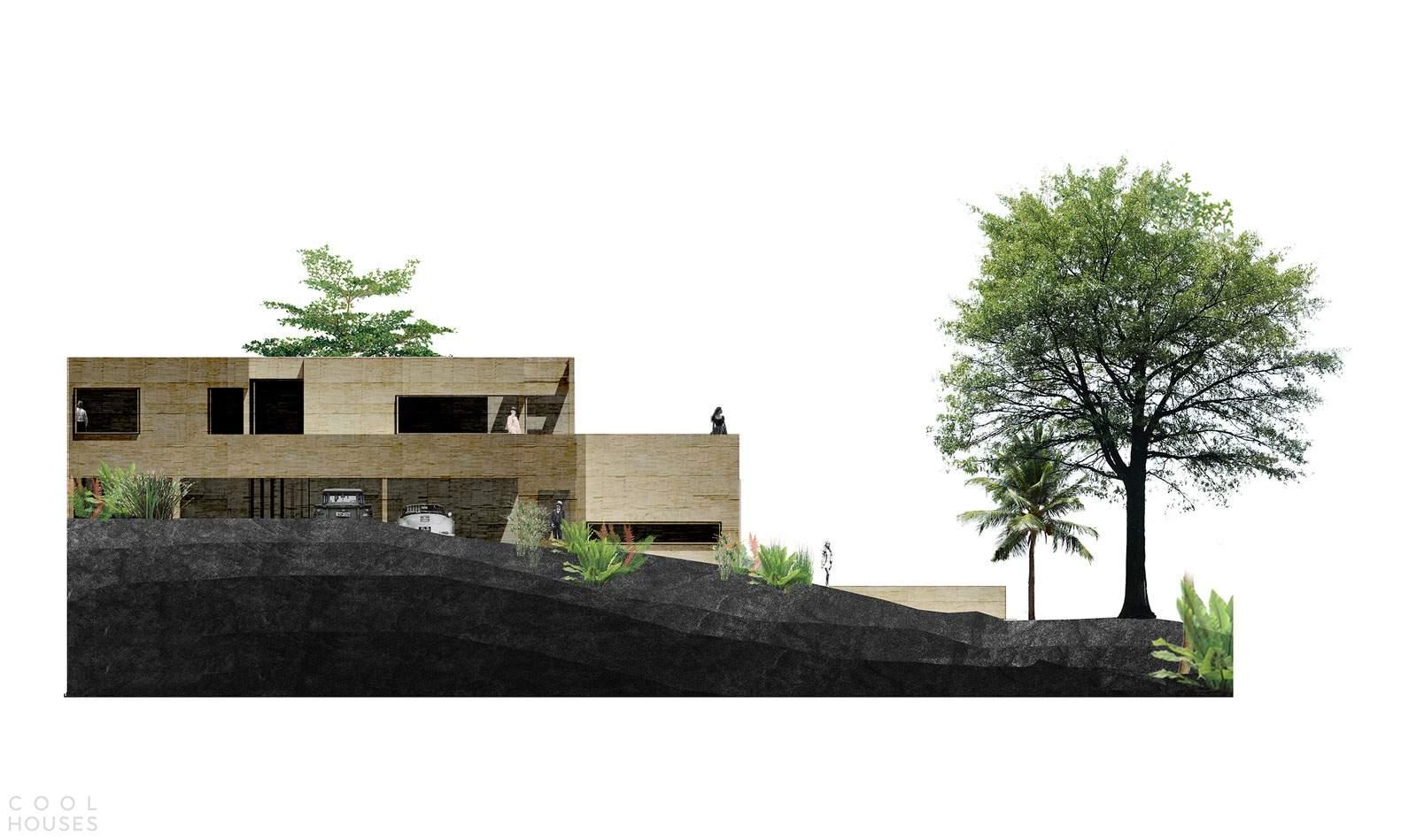 Дом в саду в Медельине, Колумбия