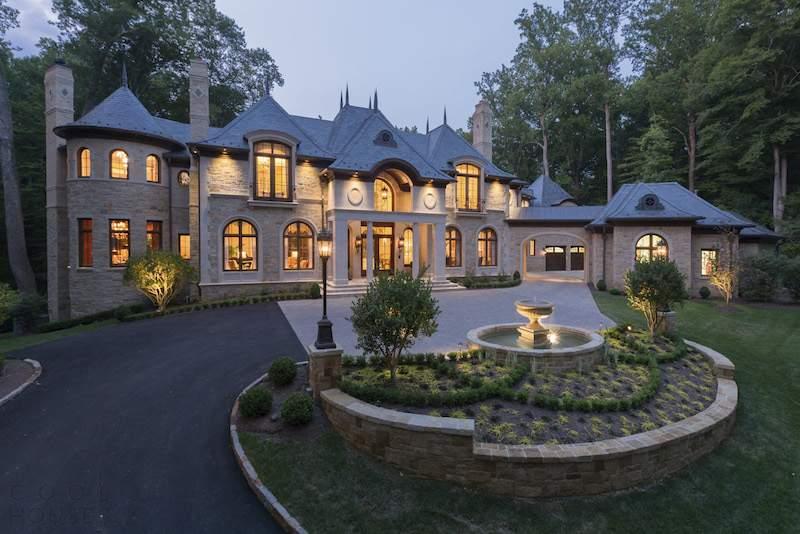 Французский замок в Вирджинии, США