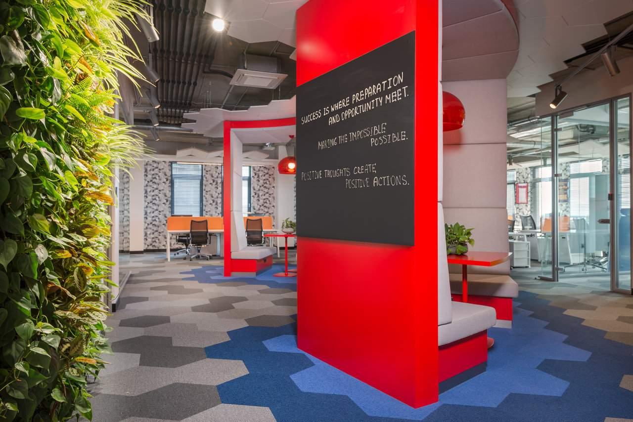 Новый офис ECommPay с уникальным интерьером, Латвия