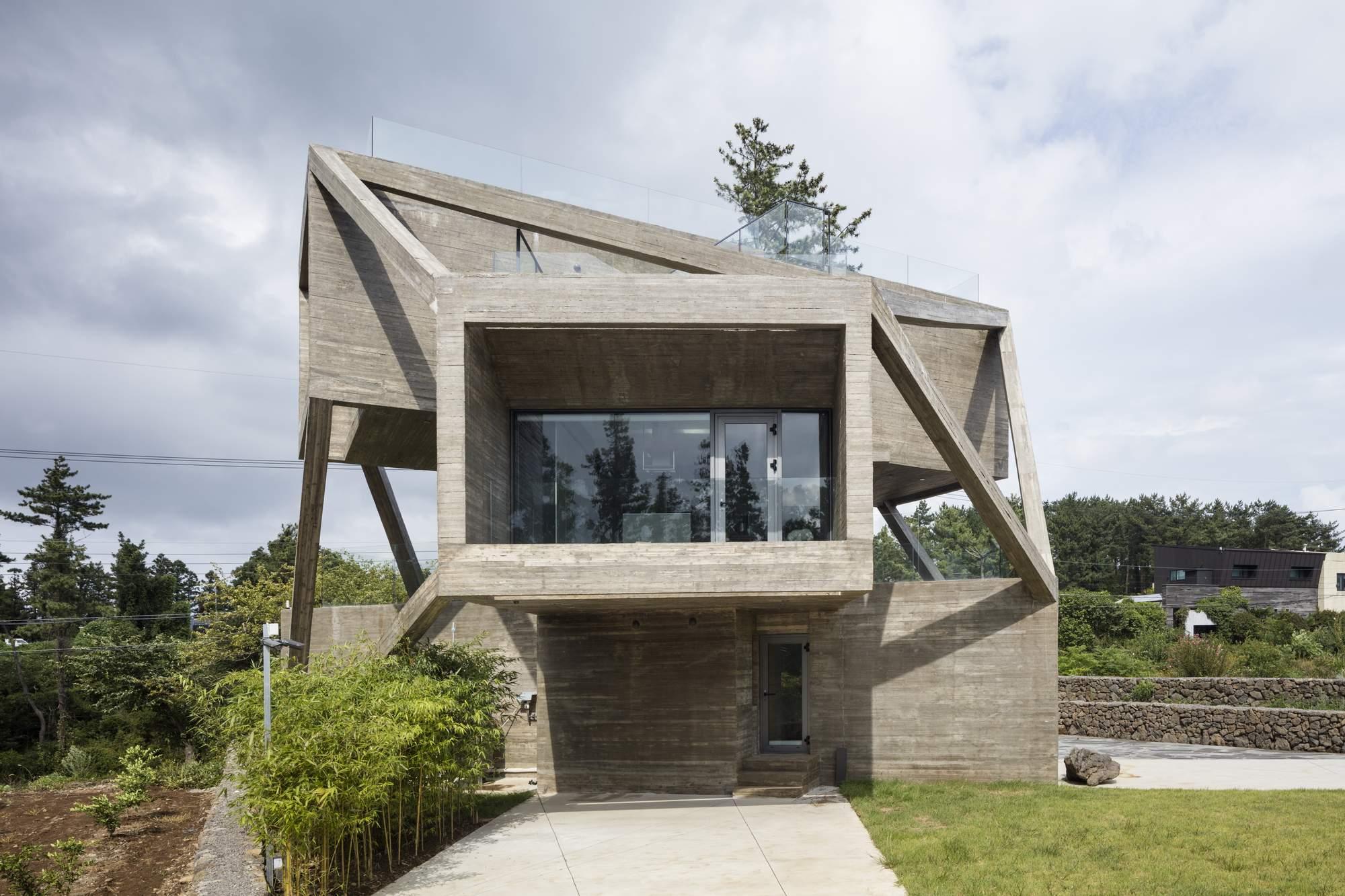 «Простой дом» на острове в Южной Корее