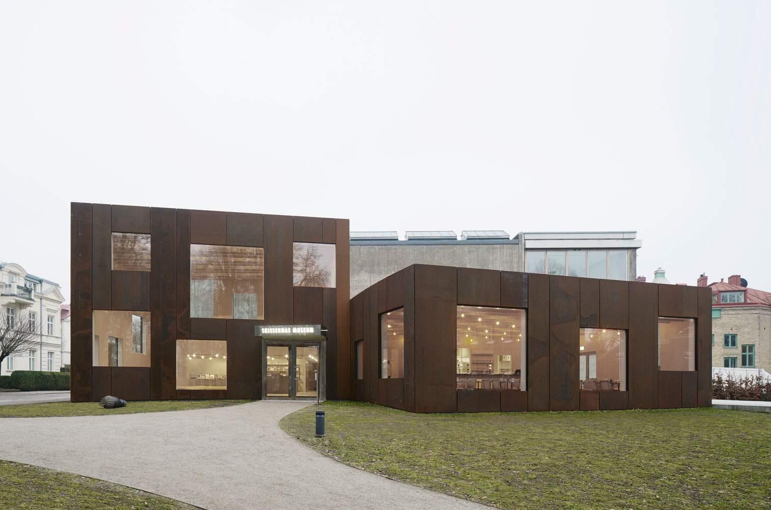 Расширение Музея Skissernas в Лунде, Швеция