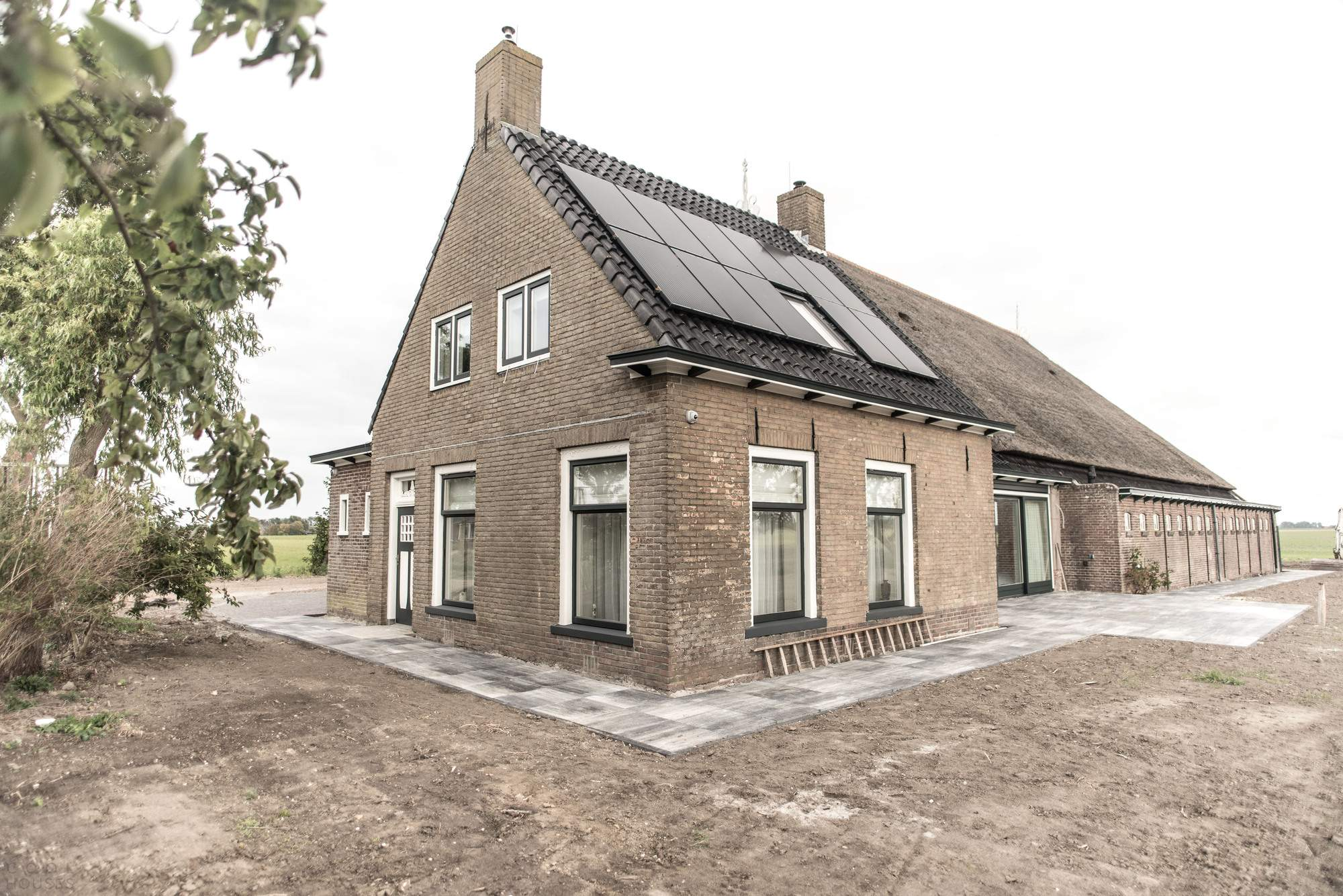 Реконструкция фермерского дома в Нидерландах