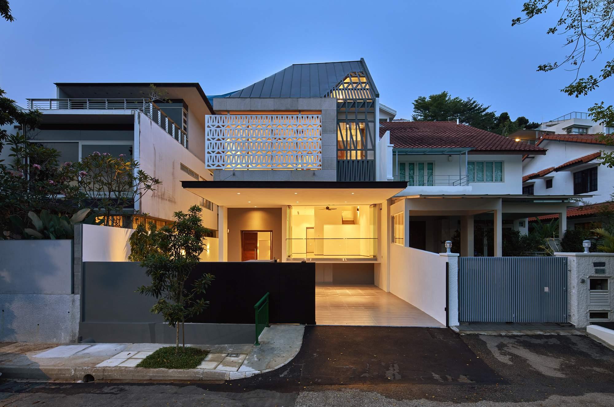 Реконструкция дома Namly в Сингапуре