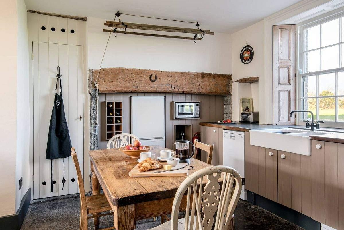 Уютный фермерский дом в Сомерсете, Англия