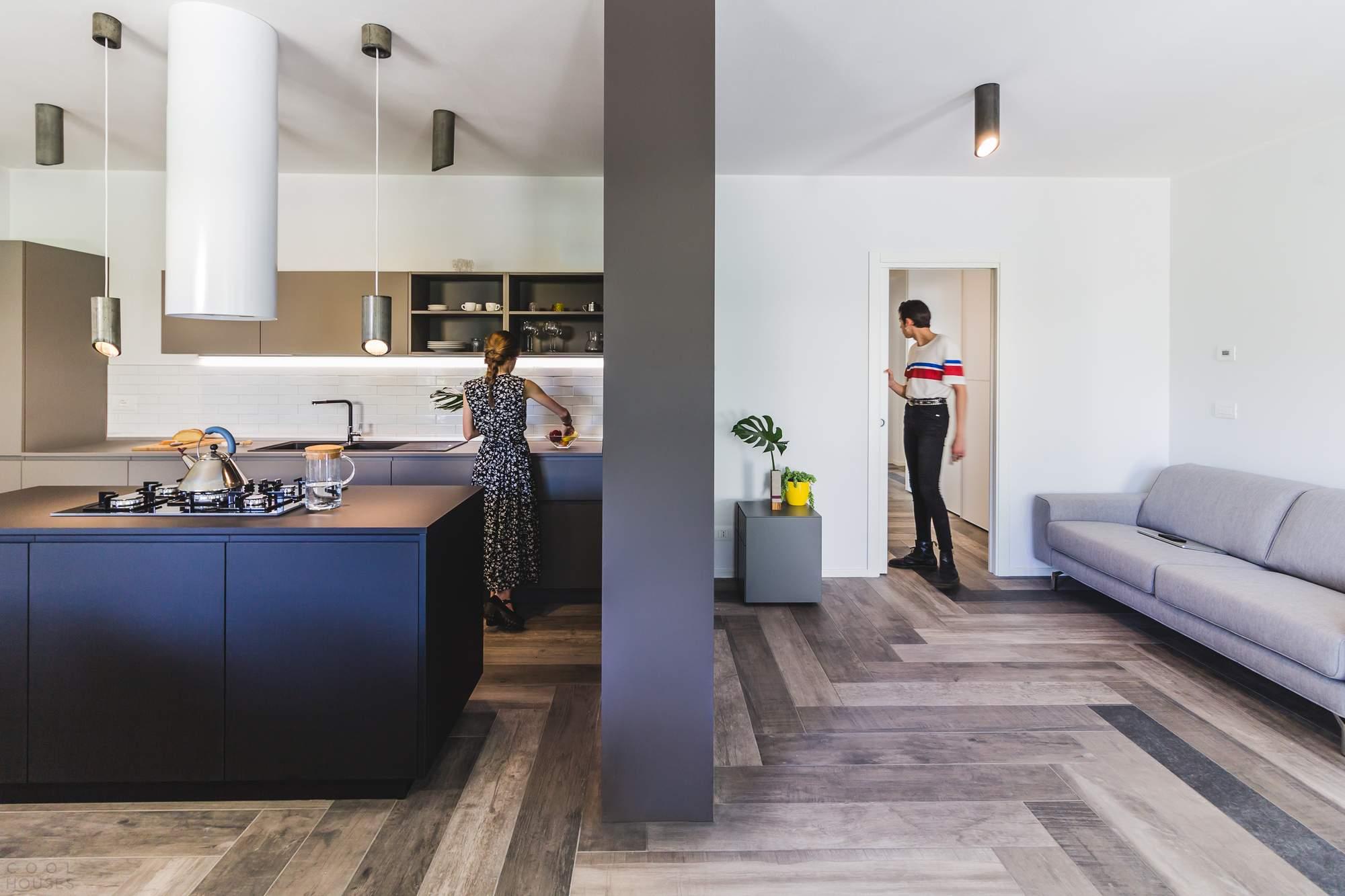 Инновационный дизайн дома для слепого клиента в Италии
