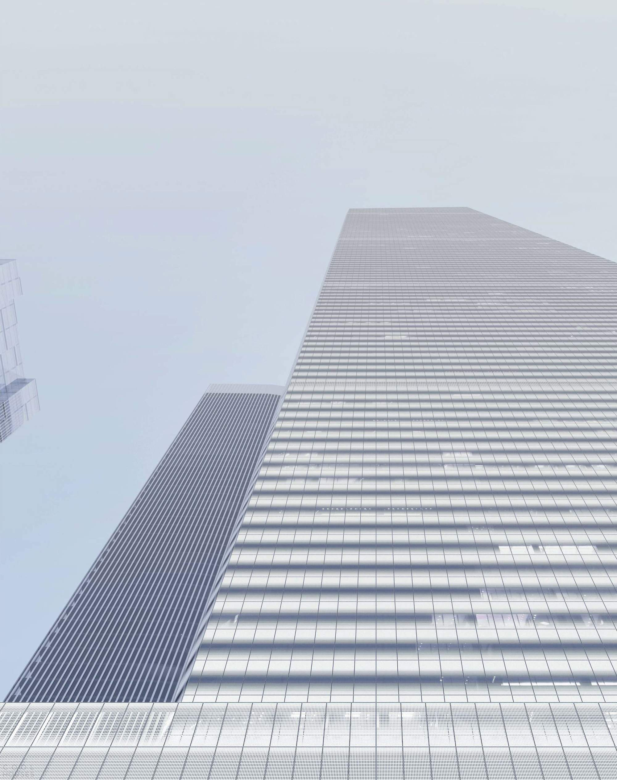 Новый небоскреб в ММДЦ «Москва - Сити», Москва, Россия