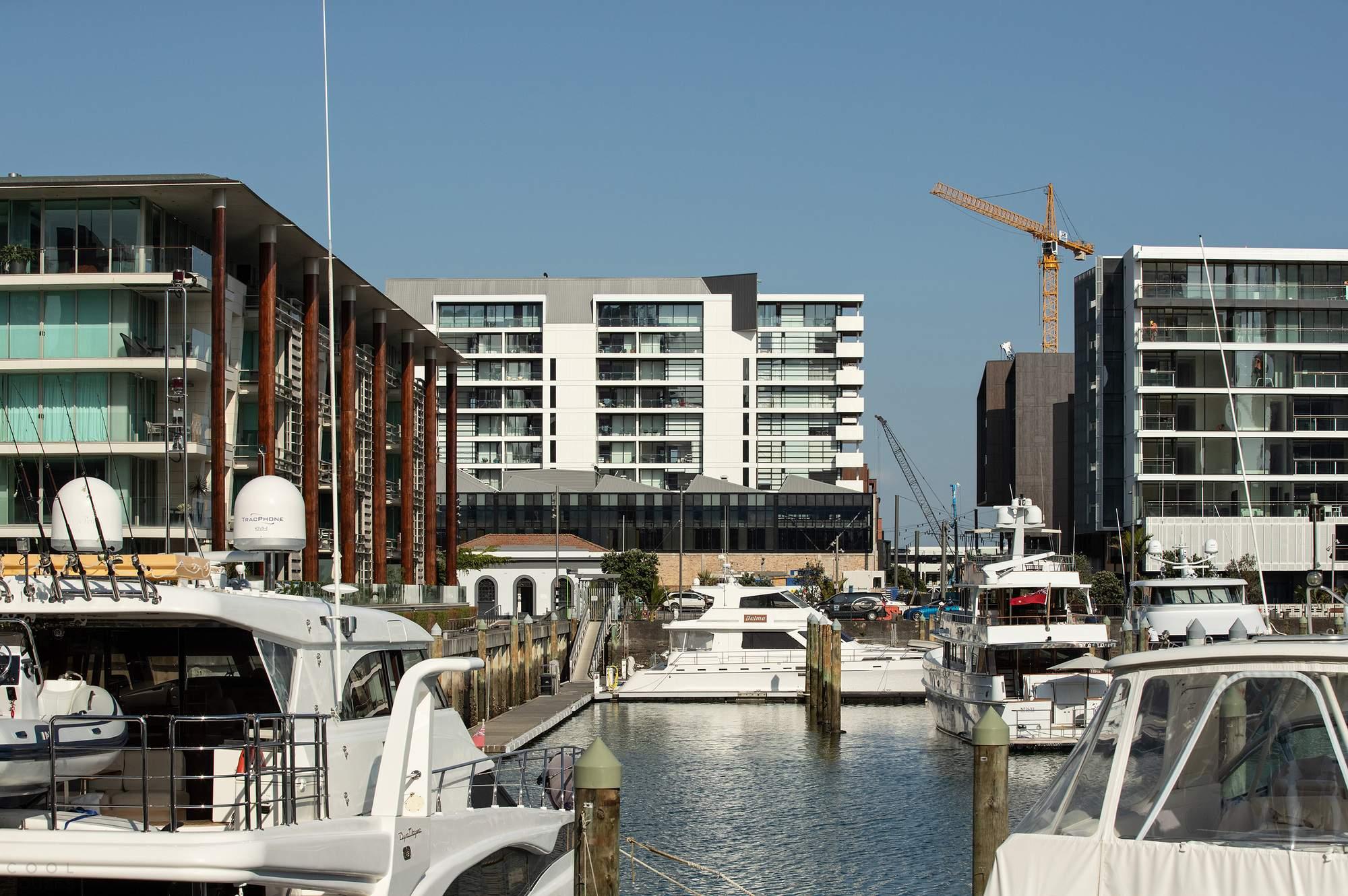 Крупномасштабный многоквартирный жилой комплекс в Новой Зеландии