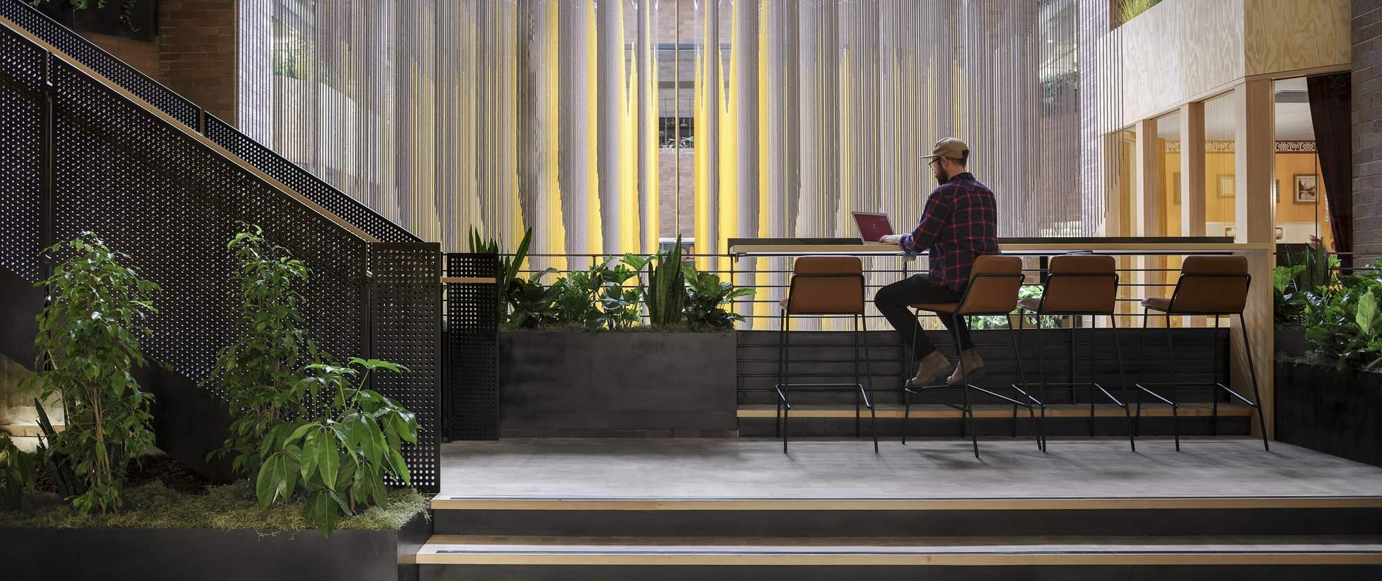 Новый офис Airbnb в Сиэтле, США